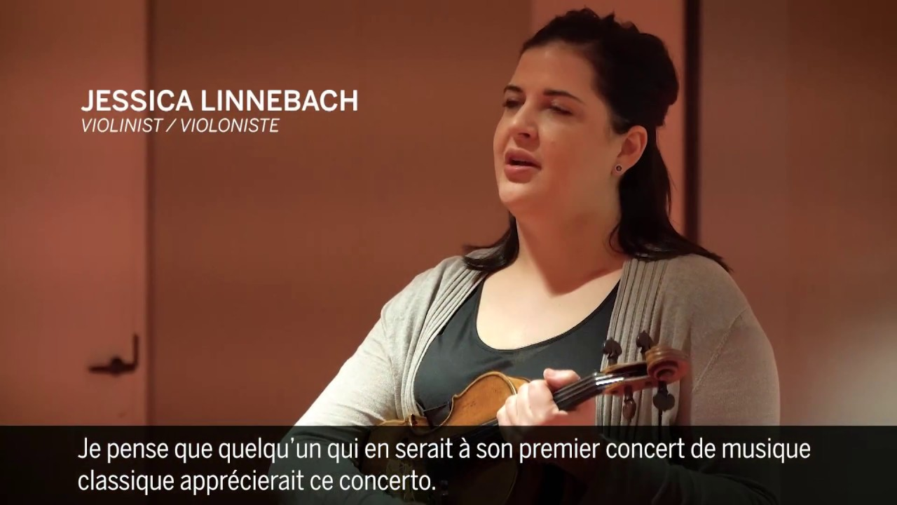 video: Jessica Linnebach and Bartok's Violin Concerto