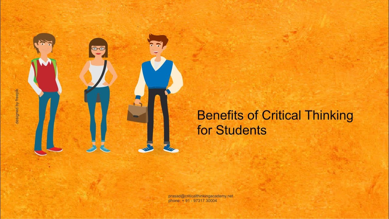 benefits of critical thinking for students