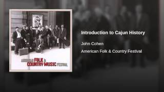Introduction to Cajun History