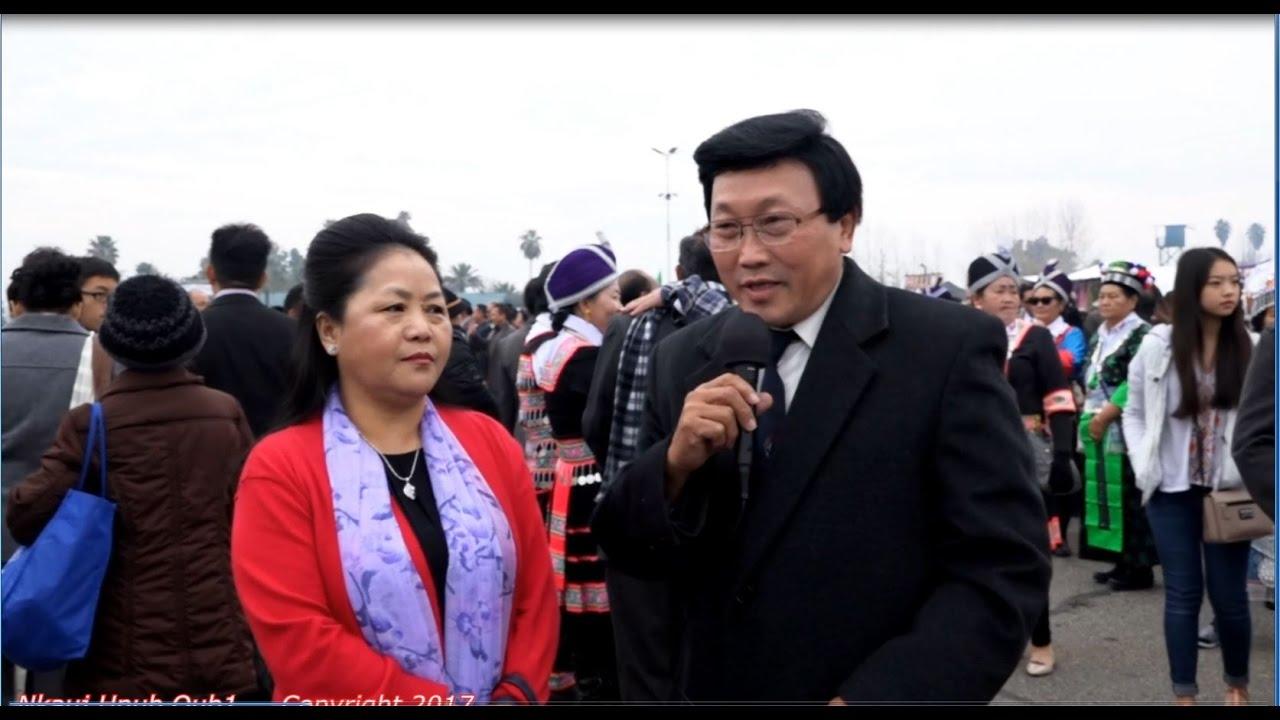 Hmong International New Year Hais kwv txhiaj paj ntsha 12 ...