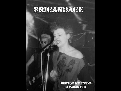Brigandage Brixton Ace Cinema, London 31 March 1983