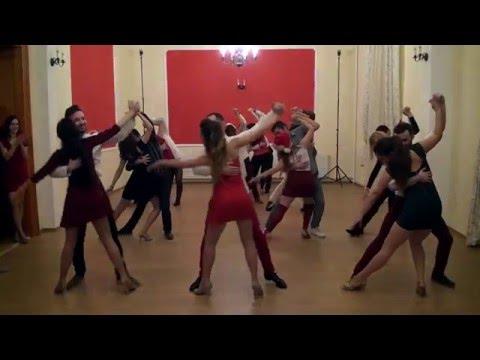 Coregrafie 12 Dec Bachata Inter 2 - Sonrisa DC