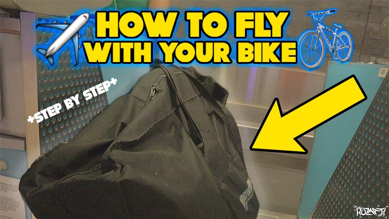 HOW I FLY WITH MY SEBIKE ✈️*Super easy*
