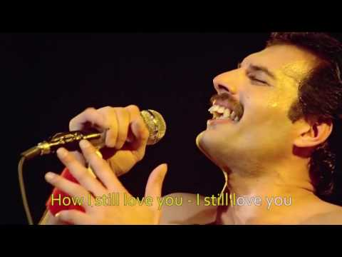 Queen 2017   Love of my Life   12 String Acoustic Insrumental   lyrics highlight   Karaoke 2017