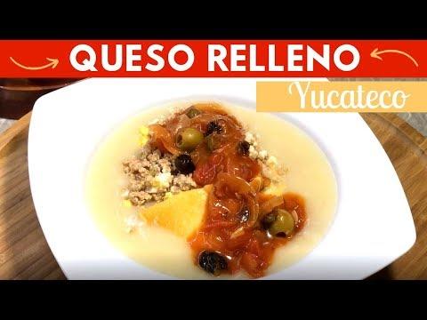 Queso Relleno Yucateco receta fácil | Cocina de Addy