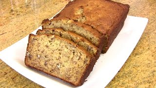 Moist Banana Bread Recipe |cooking With Carolyn