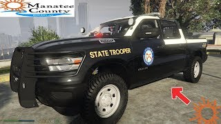GTA 5 LIVE PD - FLORIDA HIGHWAY PATROL UNMARKED RAM 1500 - FIVEM - MCRP