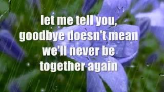 GOODBYE GIRL - (Lyrics)