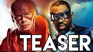 The Flash Supergirl Black Lightning Crossover Teaser & Static Shock Breakdown