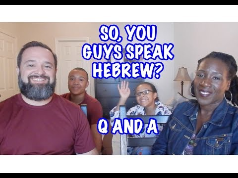 CAN YOU SPEAK HEBREW? Q AND A | Black and Natural in Jerusalem #279