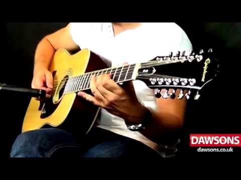 Epiphone DR-212 12 String Acoustic Guitar Demo