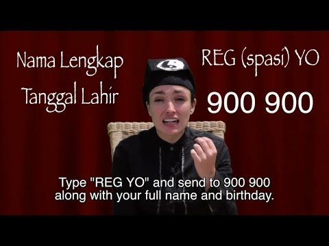 How to act (Chinese) Indonesian