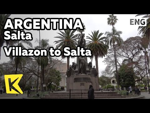 【K】Argentina Travel-Salta[아르헨티나 여행-살타]비야손에서 아르헨티나 살타로/Villazon/Station/Border/Salta Cathedral