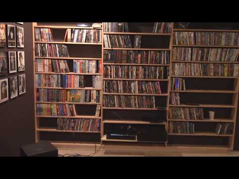 making a dvd bookcase for home theater