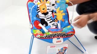 Дитячий Шезлонг Чарівні тварини Fisher Price w2201