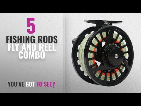 Top 10 FishingRods Fly And Reel Combo [2018]: Maxcatch TINO Fly Fishing Reel, Large Arbor Trout