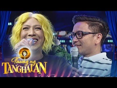 Tawag ng Tanghalan: Vice jokes about his physical perfection