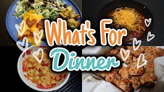 WHAT'S FOR DINNER  EASY || FALL MEAL IDEAS