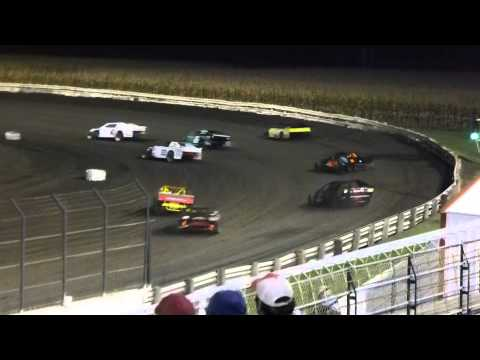 Lee County Speedway 10/12/13 last chance sport mod b-main 1