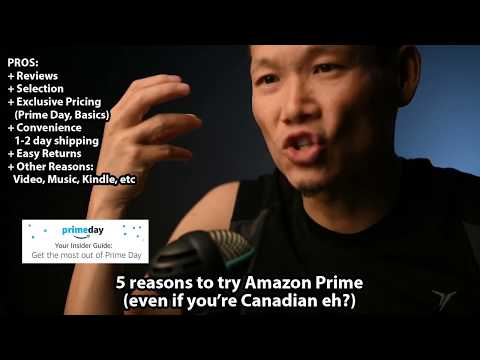 5 Reasons To Join Amazon Prime Today (Yes: Even In Canada)