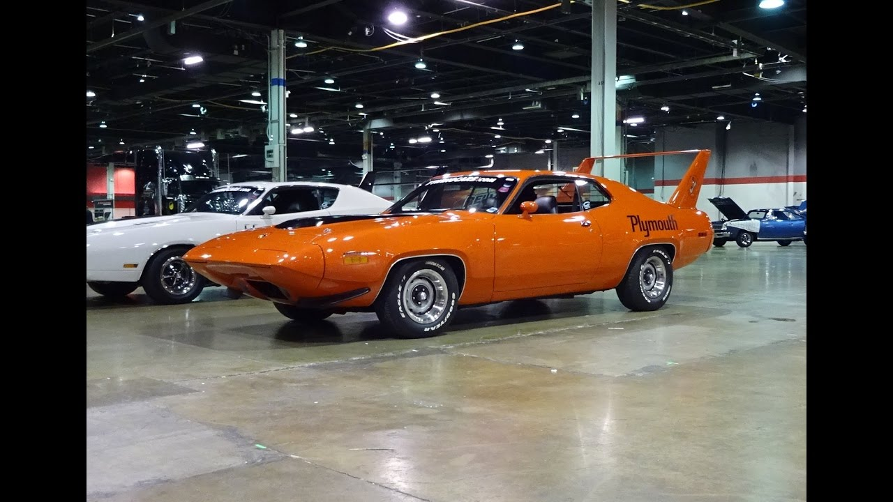 1971 Plymouth Superbird With A Sunroof Amp Hemi Engine Sound