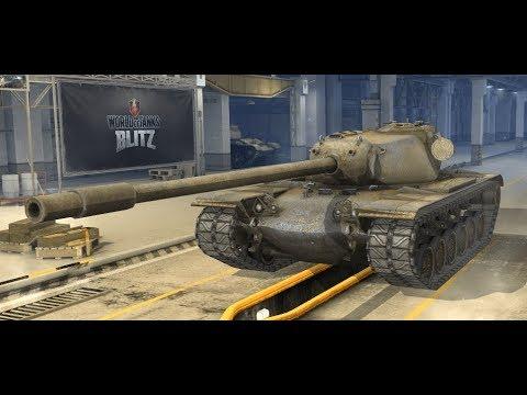 World o Tanks Blitz - T110E5'e Gidiyoruz ! (Full Line E5)