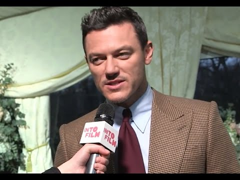 """Luke Evans interview: Disney's """"Beauty and the Beast"""" London premiere. EXCLUSIVE"""