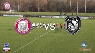 04.12.2016 FC Union Heilbronn vs SGM Meimsheim-Brackenheim
