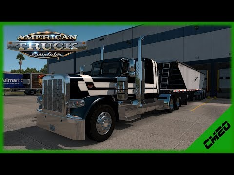 American Truck Simulator  - 389/Lode King Prestige (Twitch Replay)