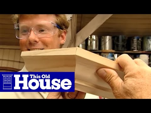 How to Cut Crown Molding - This Old House