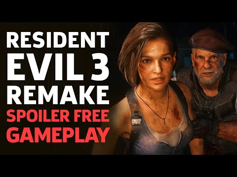 Resident Evil 3 Remake - Spoiler Free Demo Walkthrough Gameplay (With Commentary)