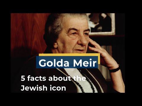 Golda Meir: Israel's First Female Prime Minister
