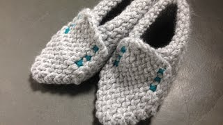 How to Loom Knit Slippers for Winter (DIY Tutorial)