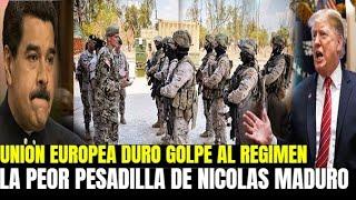 UNIÓN EUROPEA DEJA SIN PODER A NICOLAS MADURO - SIN ALIADOS VAN A MIRAFLORES  JUAN GUAIDO VENEZUELA