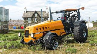 รถไถแต่งซิ่งแรงทะลุฟาส9 (Top Gear  BBC Tractor Forza Horizon 4)
