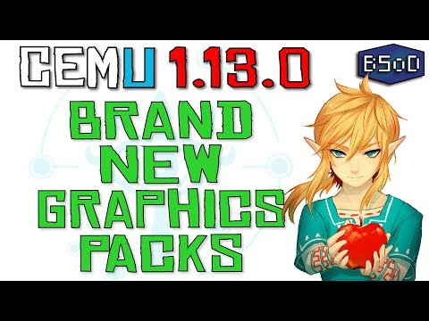 Cemu 1 13 0 | Brand New Graphics Packs Guide + Download Link - Vloggest