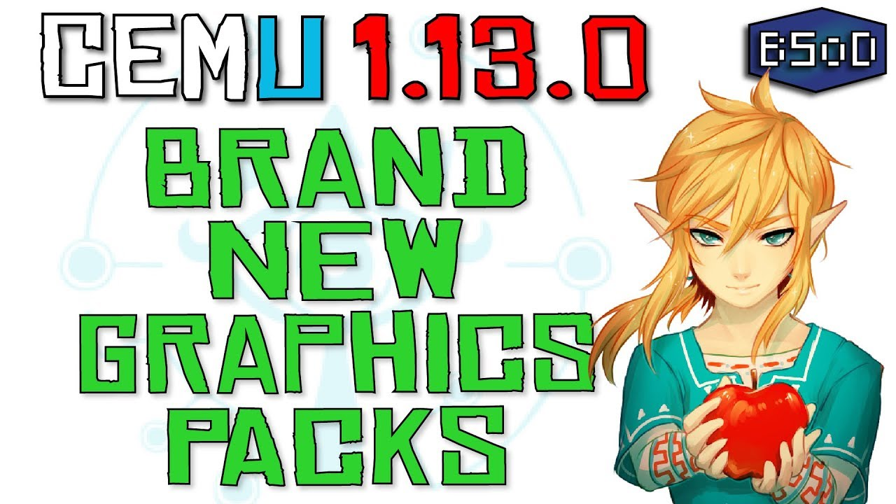 Cemu 1 13 0 | Brand New Graphics Packs Guide + Download Link