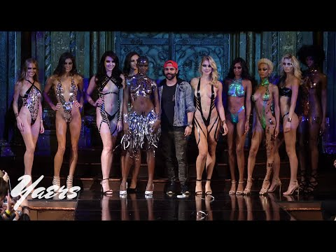 Blacktape Project Tape Art Swimwear Bikini Fashion Show New York Fashion Week 2018 ArtHearts Fashion