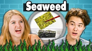 TEENS EAT SEAWEED | Teens Vs. Food