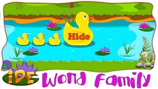 long i with silent e word family   ide word family