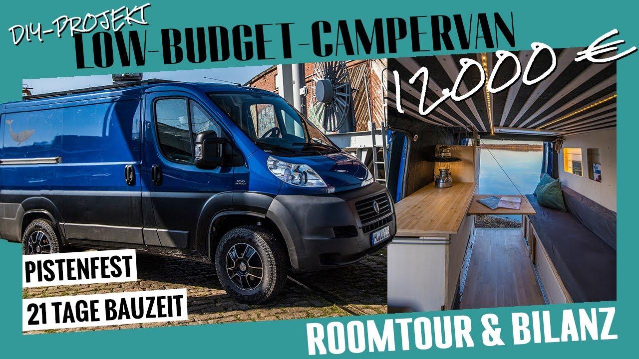 Roomtour: Der 12.000-Euro Allroad-Campervan / Bilanz – was kostet wieviel? / DIY-Projekt