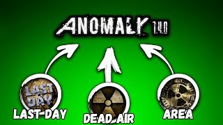 ВСЕ ХАРДКОРНЫЕ МОДЫ НА STALKER СМЕШАЛИ В ОДИН! Anomaly 1.4.0