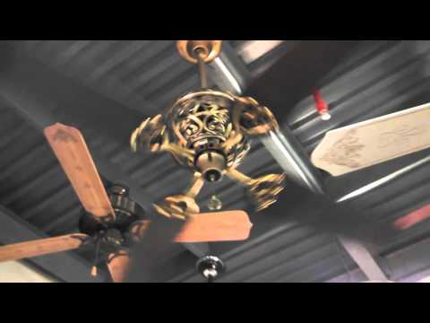 Hunter 1886 limited edition ceiling fan youtube aloadofball Images