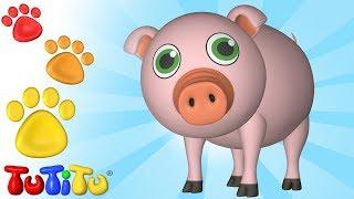 Animal Toys for Children | Pig | TuTiTu Animals