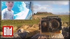 GoPro schwimmt durch die Nordsee - Nach 900 Kilometer landet Kamera auf Hallig