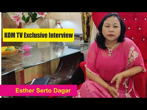 KOM LOVE SONG II EXCLUSIVE INTERVIEW WITH ESTHER SERTO DAGAR II KOM TV PRODUCTION