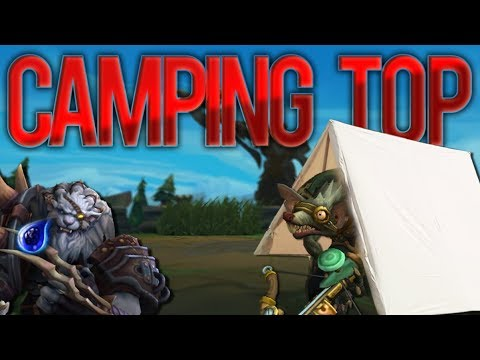 Camping Top till they Cry! Twitch To Challenger - Climb to Challenger - League of Legends thumbnail