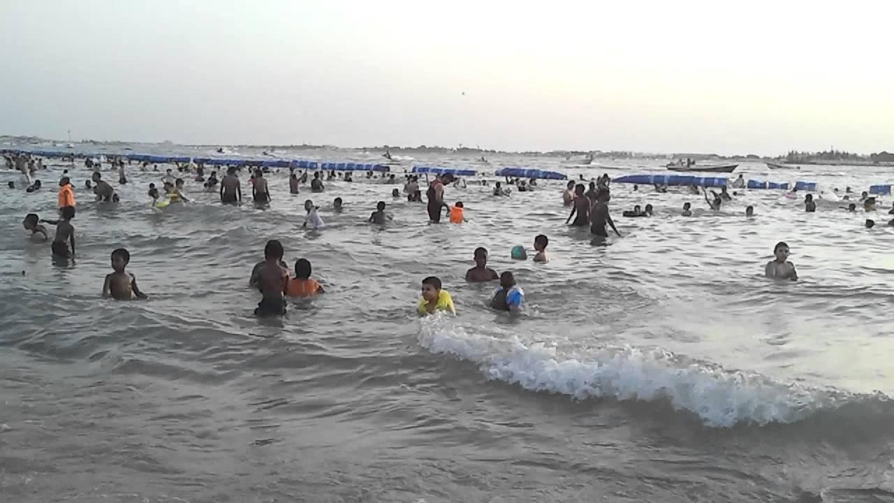 Tropical Island Beach Ambience Sound: بحر الاسكندرية جدة 13/7/2012