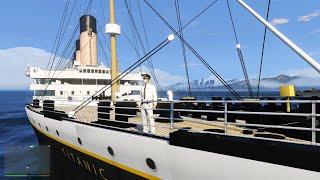 Download Jadi Nakhoda Kapal Titanic Terbesar Di Dunia! GTA 5 Mod Indonesia