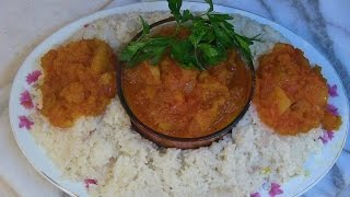 Afghani Turnips with Sticky Rice